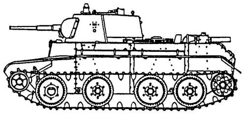 BT-7 tank