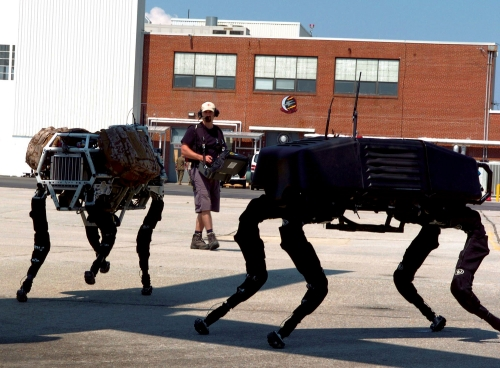 BigDog quadruped robot