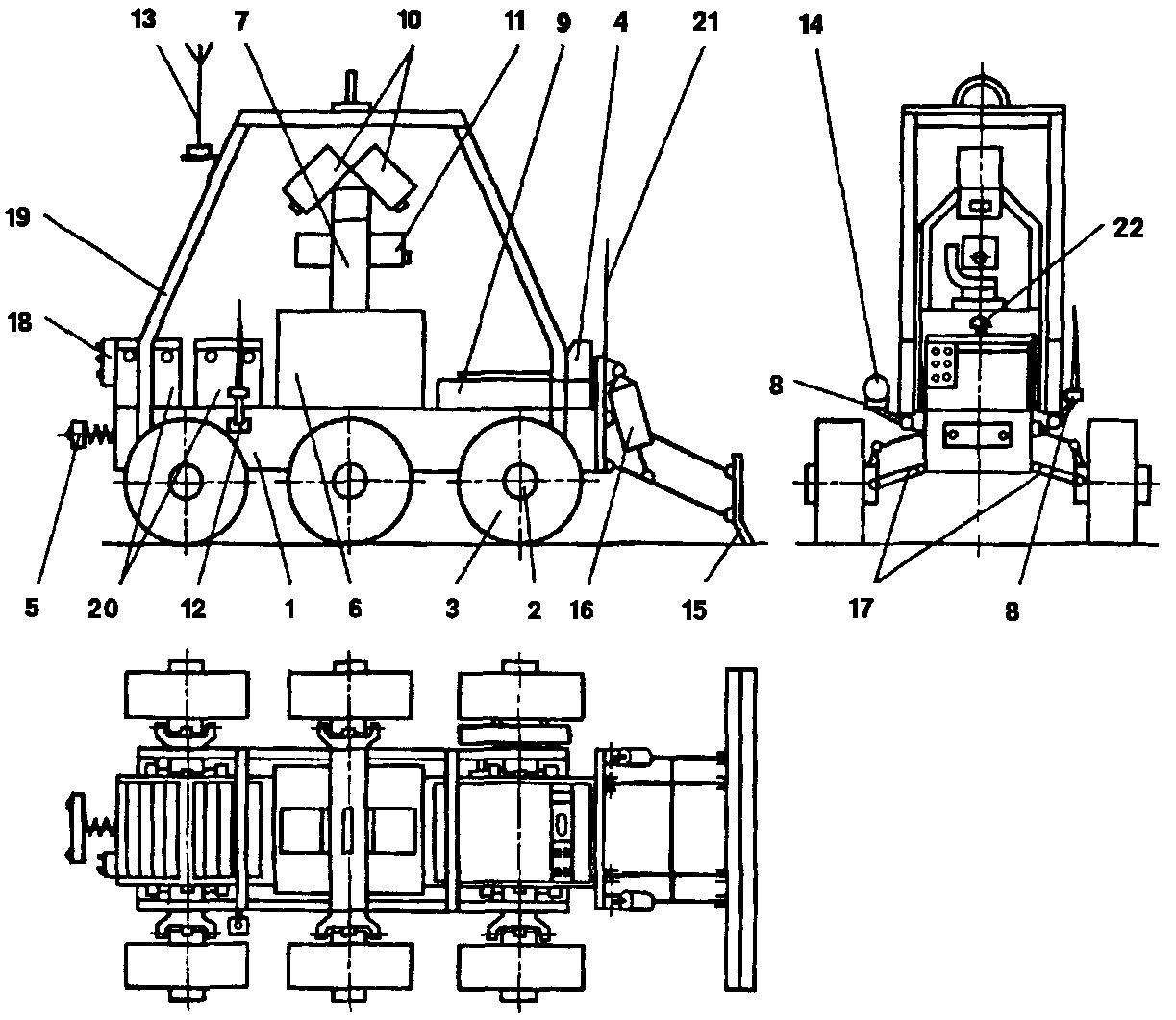 Scheme of STR-1
