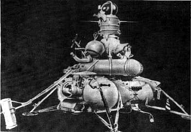 Luna-16 probe