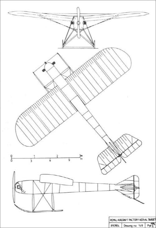 Drawing of Aerial Target