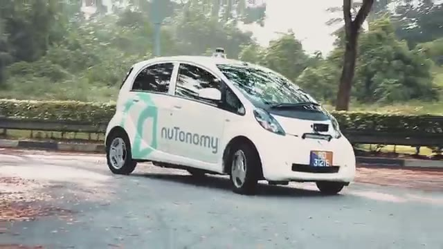 The world's first taxi with autopilot