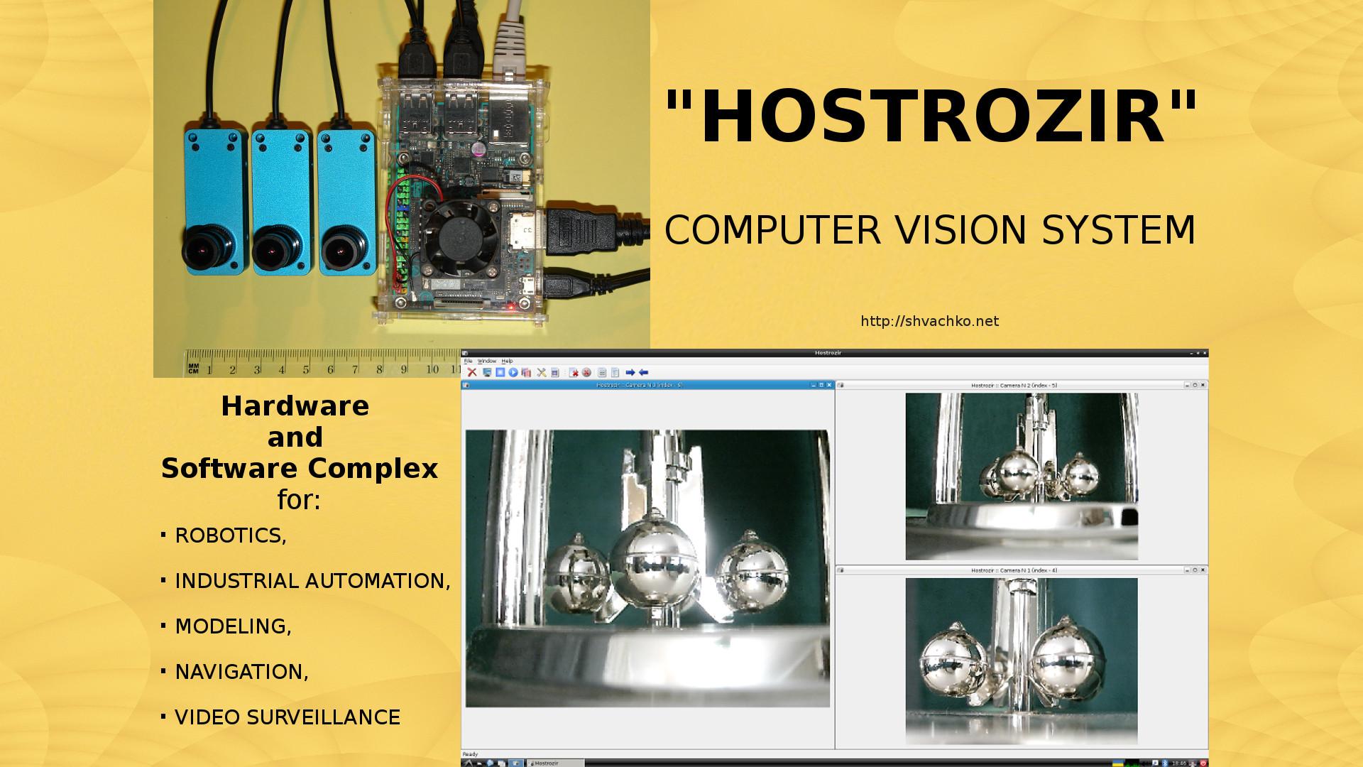 Computer vision system _Hostrozir_