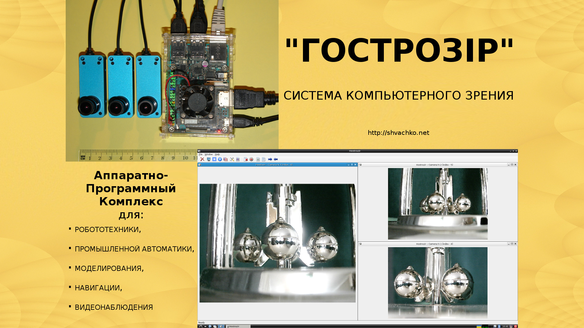 Система компьютерного зрения _Гострозір_